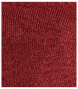 Dark Red Ribbed High Neck Jumper New Look