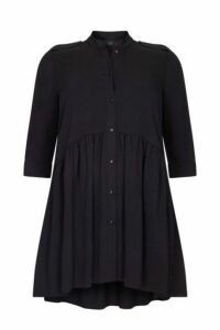**Live Unlimited Black Epaulets Detail Dress, Black