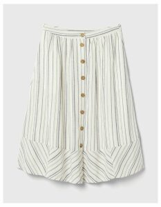 Fat Face Lena Stripe Skirt