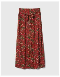 Fat Face Maya Alhambra Palm Maxi Skirt