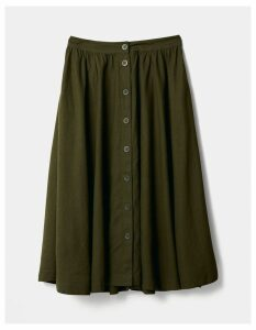 Fat Face Lena Linen Blend Skirt