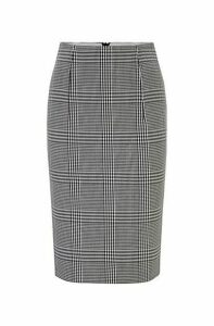 Regular-fit pencil skirt in stretch fabric