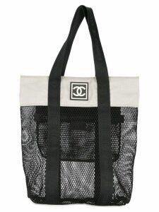 Chanel Pre-Owned 2003-2004 Sports Line shopper tote - Black