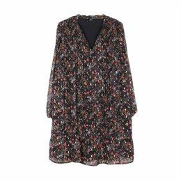 Shift Shirt Dress in Floral Print