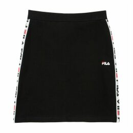 Maha Mini Skirt with Logo Band