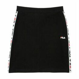 Maha Mini Skirt with Logo Band