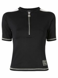 Chanel Pre-Owned Sports Line zipped top - Black