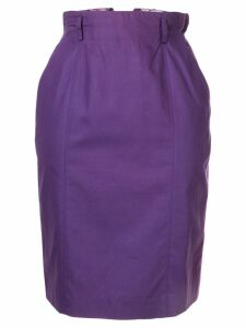 Christian Dior Pre-Owned Christian Dior Sports Midi Skirt - Purple