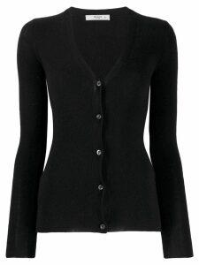 Prada Pre-Owned 1990's V-neck fitted cardigan - Black