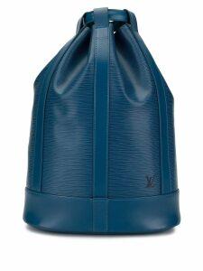 Louis Vuitton Pre-Owned Randonnée PM shoulder bag - Blue