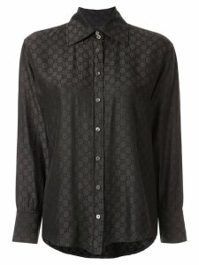 Gucci Pre-Owned GG Pattern shirt - Grey