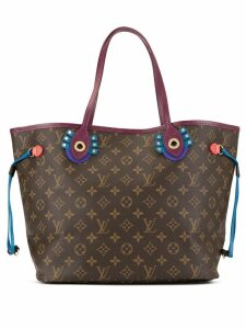 Louis Vuitton Pre-Owned 2015 Neverfull MM tote - Brown