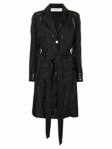 Christian Dior Pre-Owned belted trench coat - Black