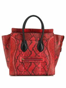 Céline Pre-Owned Luggage tote - Red