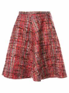 Junya Watanabe Comme des Garçons Pre-Owned plaid tweed flared skirt