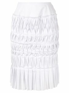 Junya Watanabe Comme des Garçons Pre-Owned pleated origami skirt -