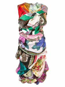 Comme Des Garçons Pre-Owned silk scarves dress - Multi