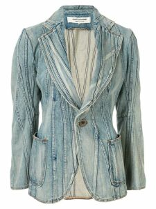 Junya Watanabe Comme des Garçons Pre-Owned patchwork denim jacket -