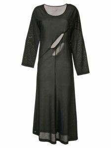 Comme Des Garçons Pre-Owned cut-out dress - Black