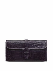 Hermès Pre-Owned Jige PM clutch bag - Purple