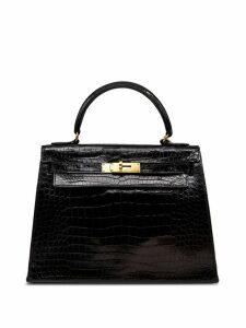 Hermès Pre-Owned 80-90's 28cm Kelly Sellier bag - Black