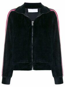 No Ka' Oi side striped sports jacket - Black