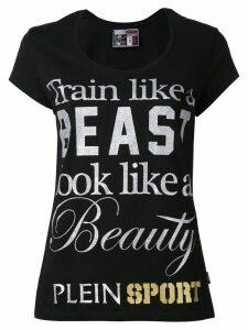Plein Sport beast T-shirt - Black