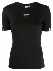 Adidas 3 Stripes T-shirt - Black