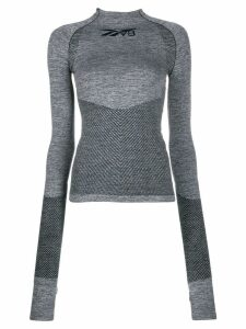 Reebok x Victoria Beckham collaboration logo print performance top -