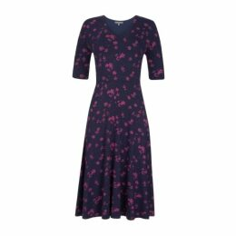 Melody Floral Fit and Flare Dress