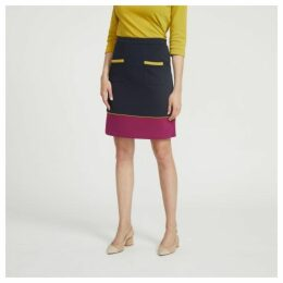 Colour Block Ponte Skirt