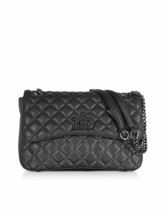 Roccobarocco Rb Releve Quilted Eco Leather Shoulder Bag