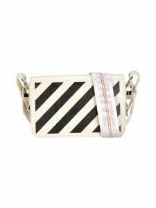 Off White Diag Mini Flap Bag