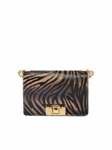 Furla Zebra Print Mimi Bag