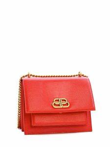 Balenciaga Chain S Sharp Bag Red