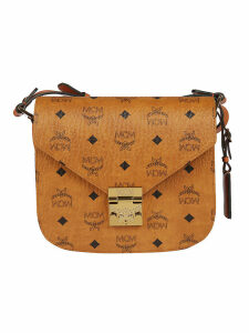 Mcm Patricia Visetos Shoulder Bag