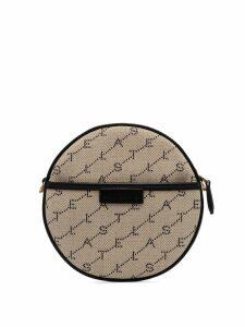 Stella McCartney mini round logo bag - Neutrals