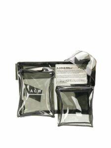 A-Cold-Wall* multi-pocket holster bag - Grey