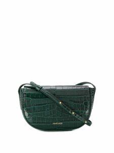 Frenzlauer mini Swing croc-effect bag - Green