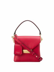 Prada top handle mini bag - Red