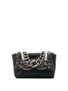 Ermanno Scervino embellished mini bag - Black