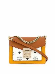 MCM Patricia Visetos shoulder bag - Brown
