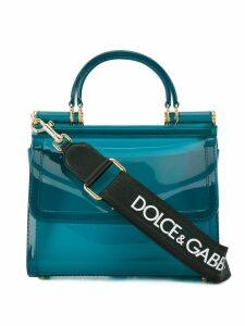 Dolce & Gabbana small Sicily 58 tote - Blue