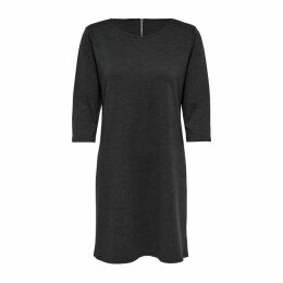 Short Shift Dress with 3/4 Length Sleeves