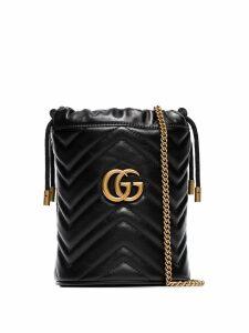 Gucci GG Marmont mini bucket bag - Black