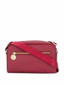 Borbonese printed crossbody bag - Red