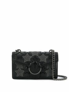 Pinko studded star crossbody bag - Black