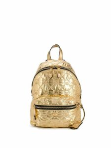 Moschino Teddy quilted backpack - Gold