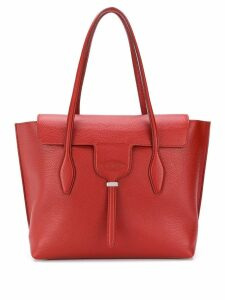 Tod's foldover top shoulder bag - Red