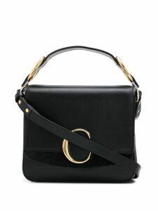 Chloé small C box bag - Black